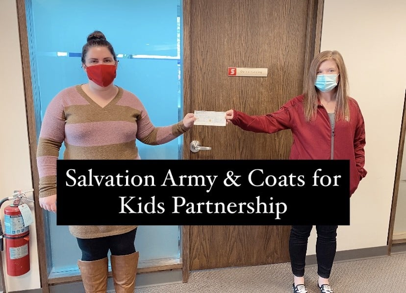 Salvation Army and Coats for Kids Partnership