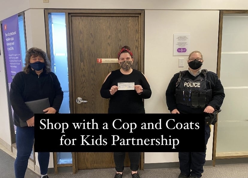 Shop with a Cop and Coats for Kids Partnership