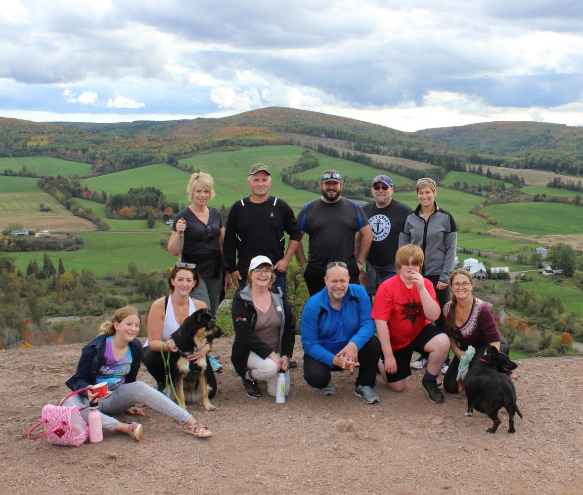 Sussex Rotary Hike the Bluff 2020