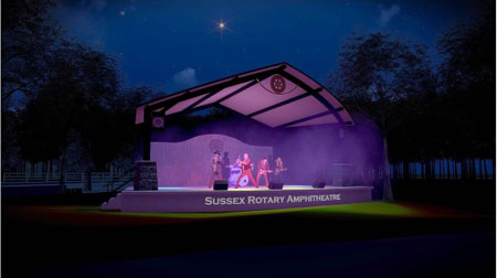 Amphitheatre to Replace Burton Park Bandstand