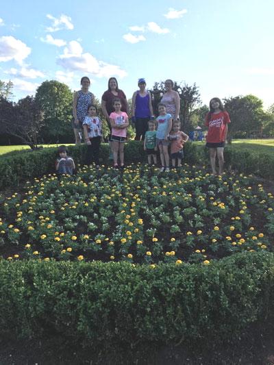 Flower Garden 2019 a Family Affair!