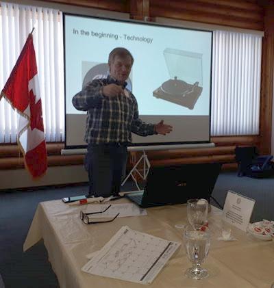 Classification Talk - Bob Tremblett