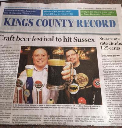 First Brewfest in 2018
