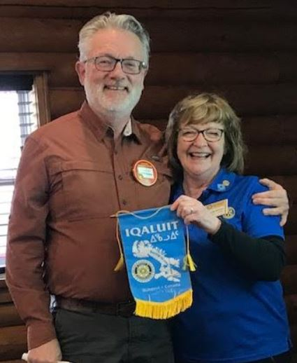 Iqaluit Greets Sussex Rotary