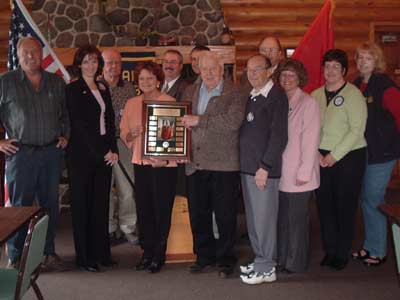 Charter Member and Past President Honored