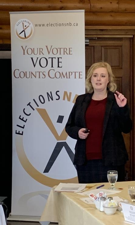 Elections New Brunwsick - Kim Poffenroth