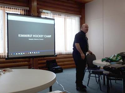Kimmirut Hockey Camp Visit