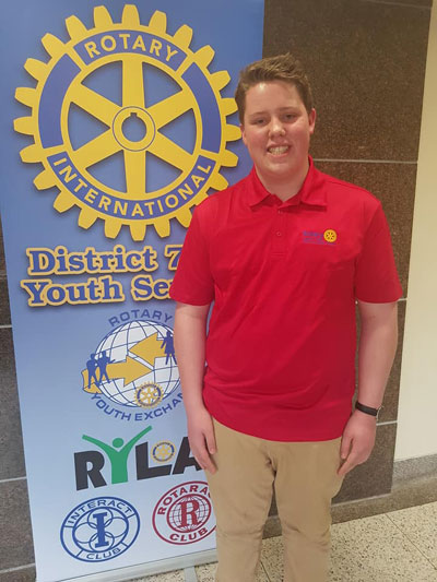 Kings County Interact Club New President
