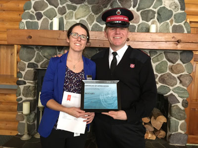 Salvation Army Says Thank You