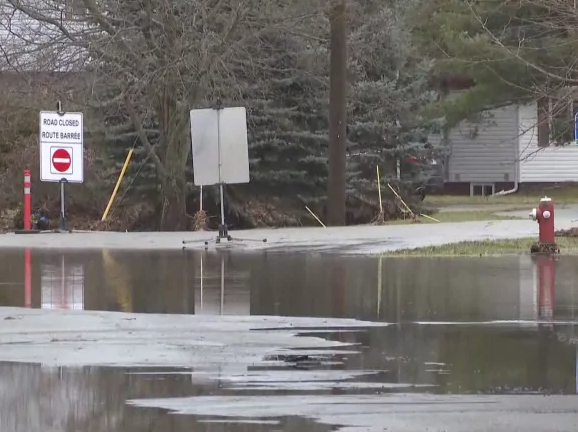 Sussex Flooding 2020 (Image courtesy CBC News)