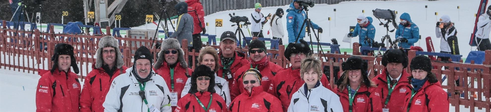 Volunteering during Biathlon