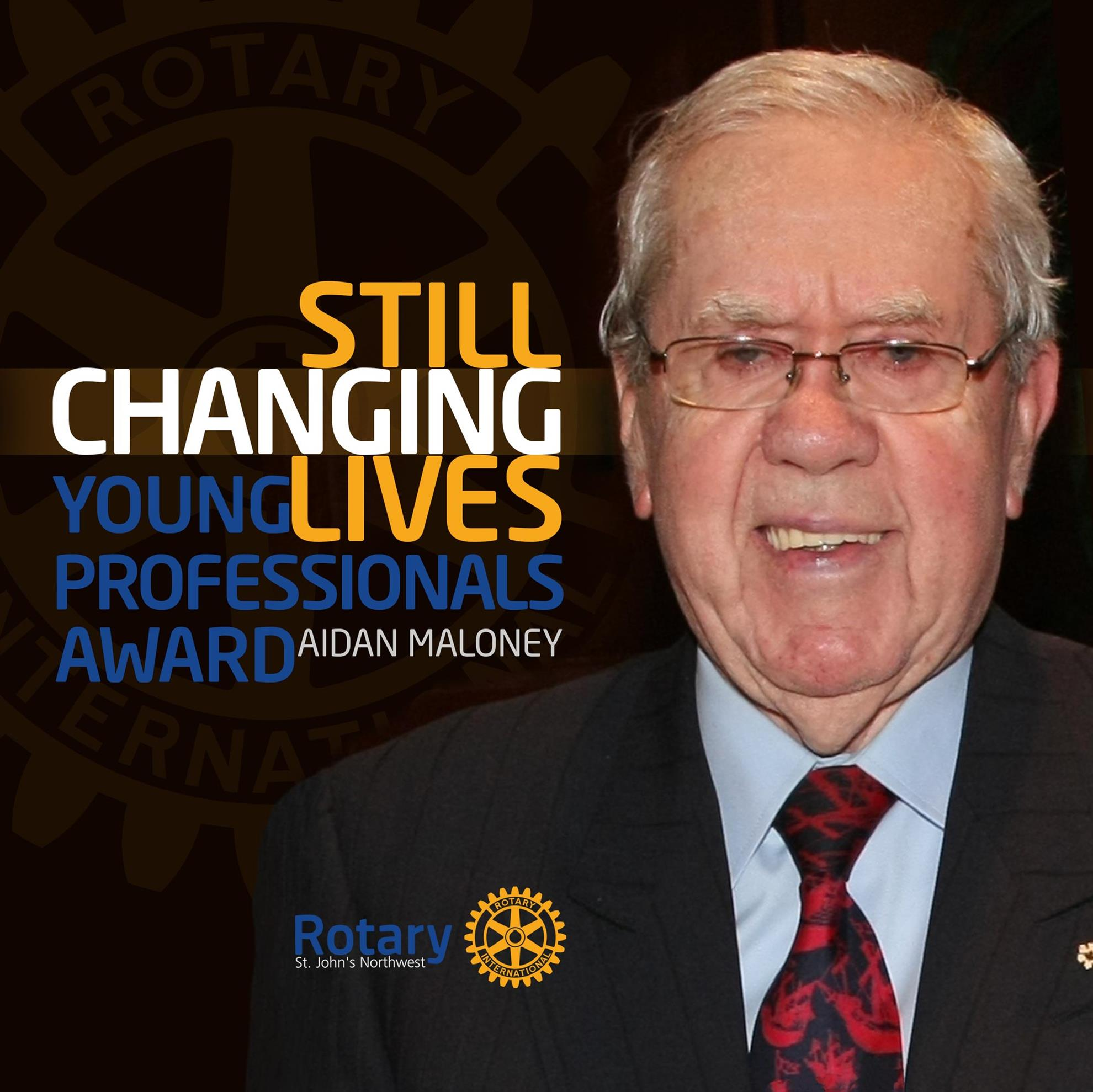 Apply now for the Aidan Maloney Award