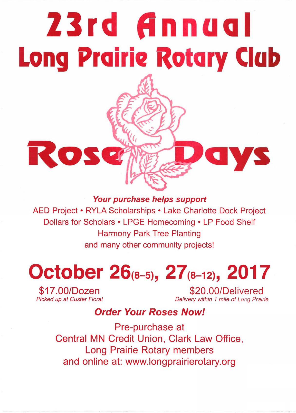 Rotary Roses 2017