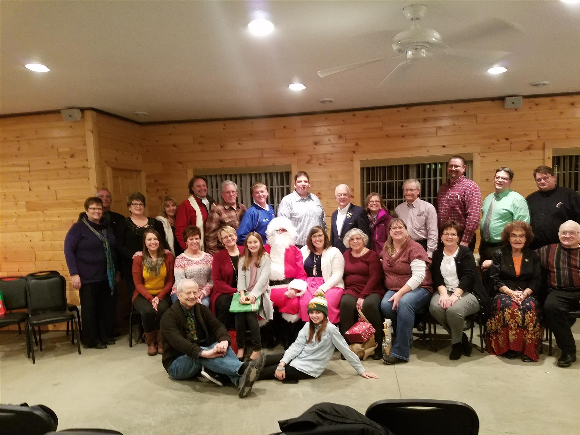 Wahpeton Breckenridge Christmas Social
