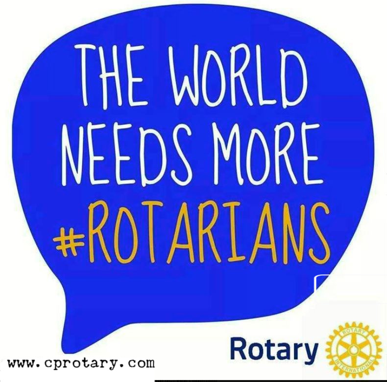 The world needs more Rotarians
