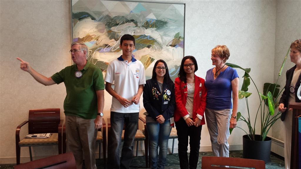 2013 Inbound Rotary Exchange
