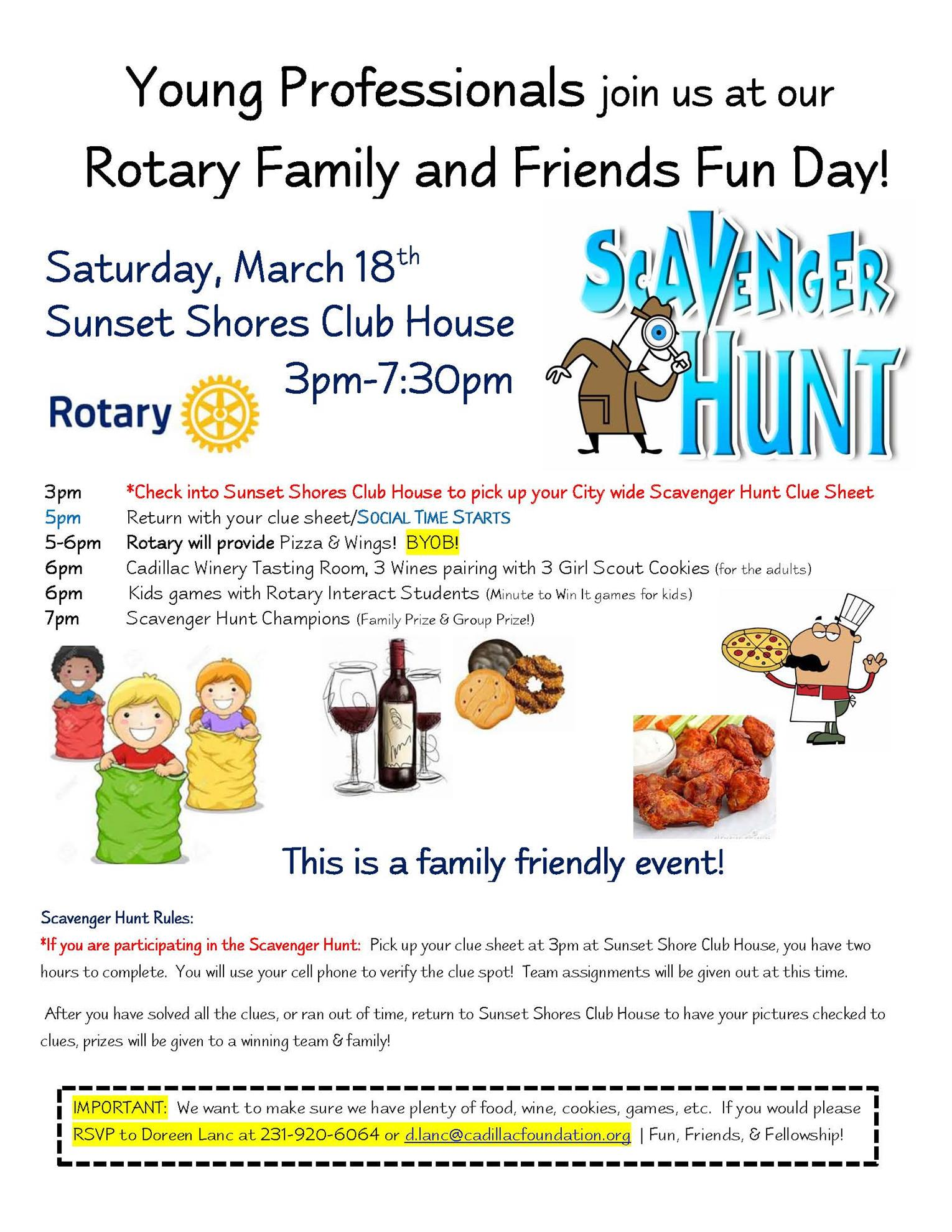 Rotary Family Friends Fun Day