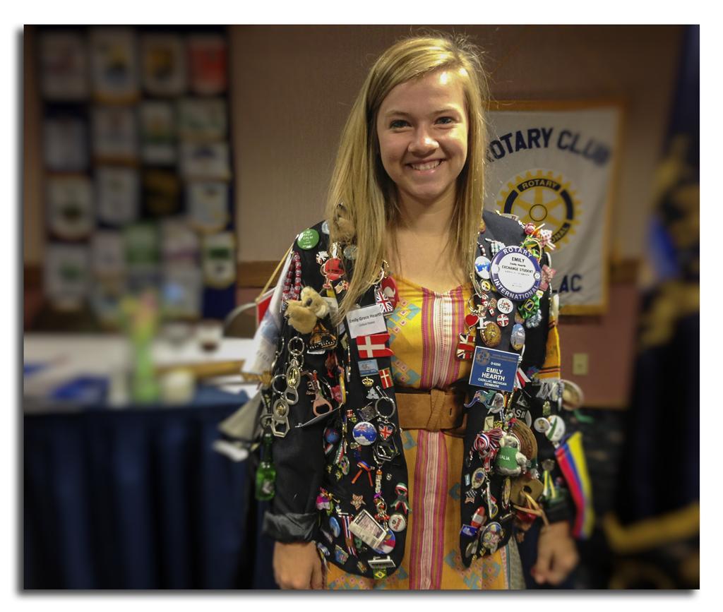 Emily Hearth Exchange Student