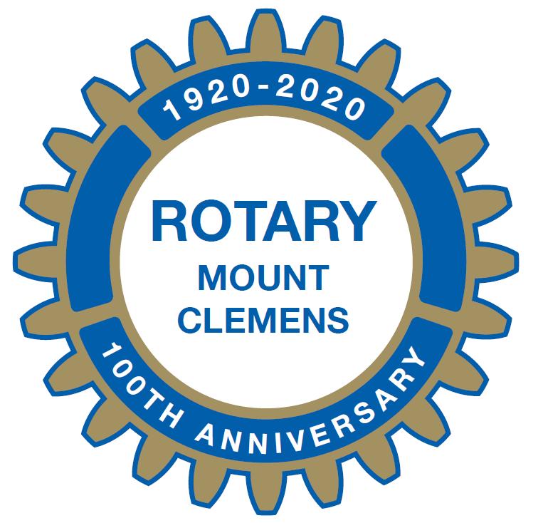 Rotary 100 year logo