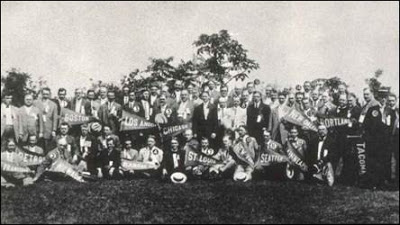 1910 Rotary Clubs of America Convention (Image courtesy of Rotary International)