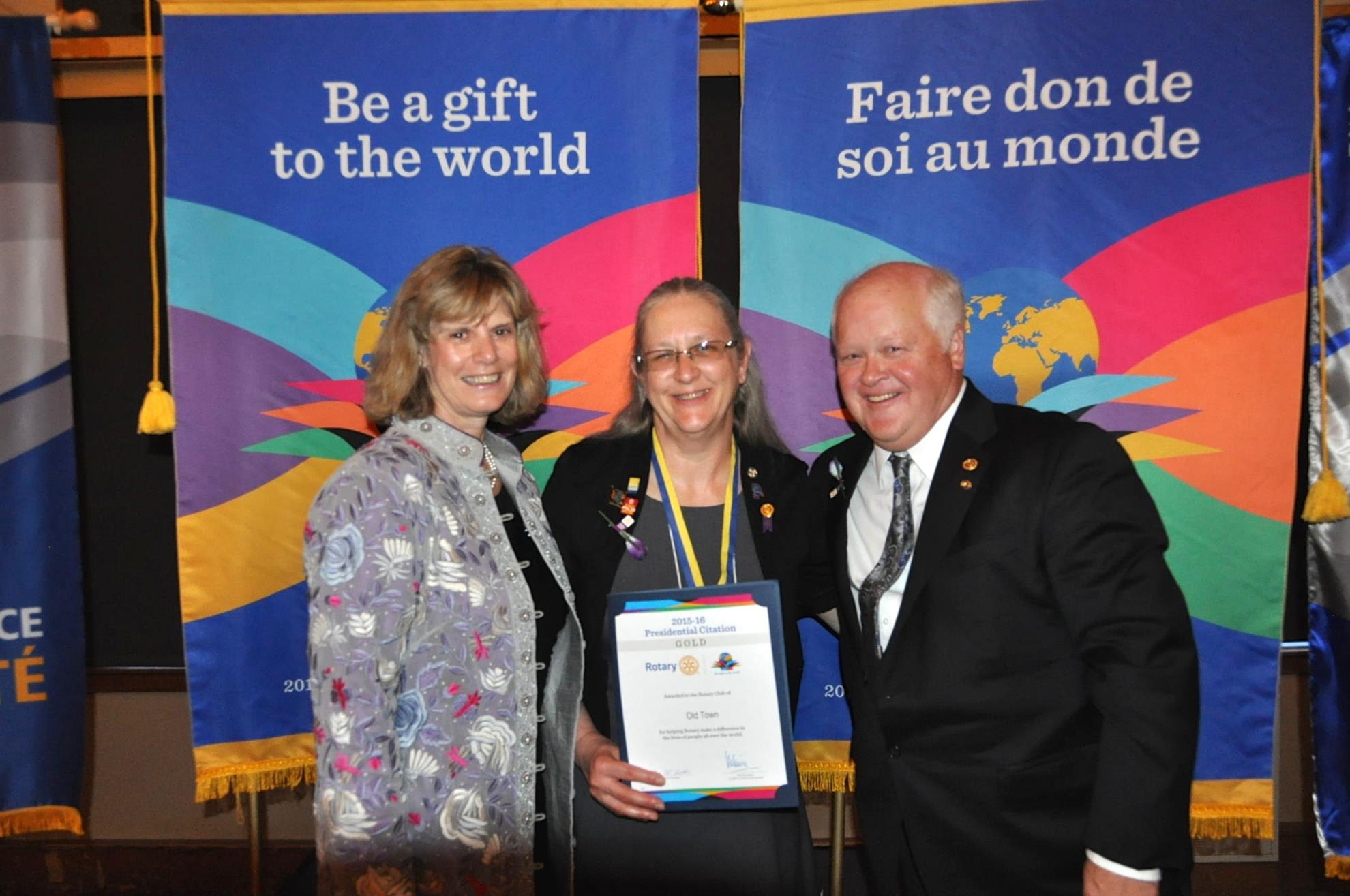 Another Banner Year For The Rotary Club Of Old Town Rotary Club Of