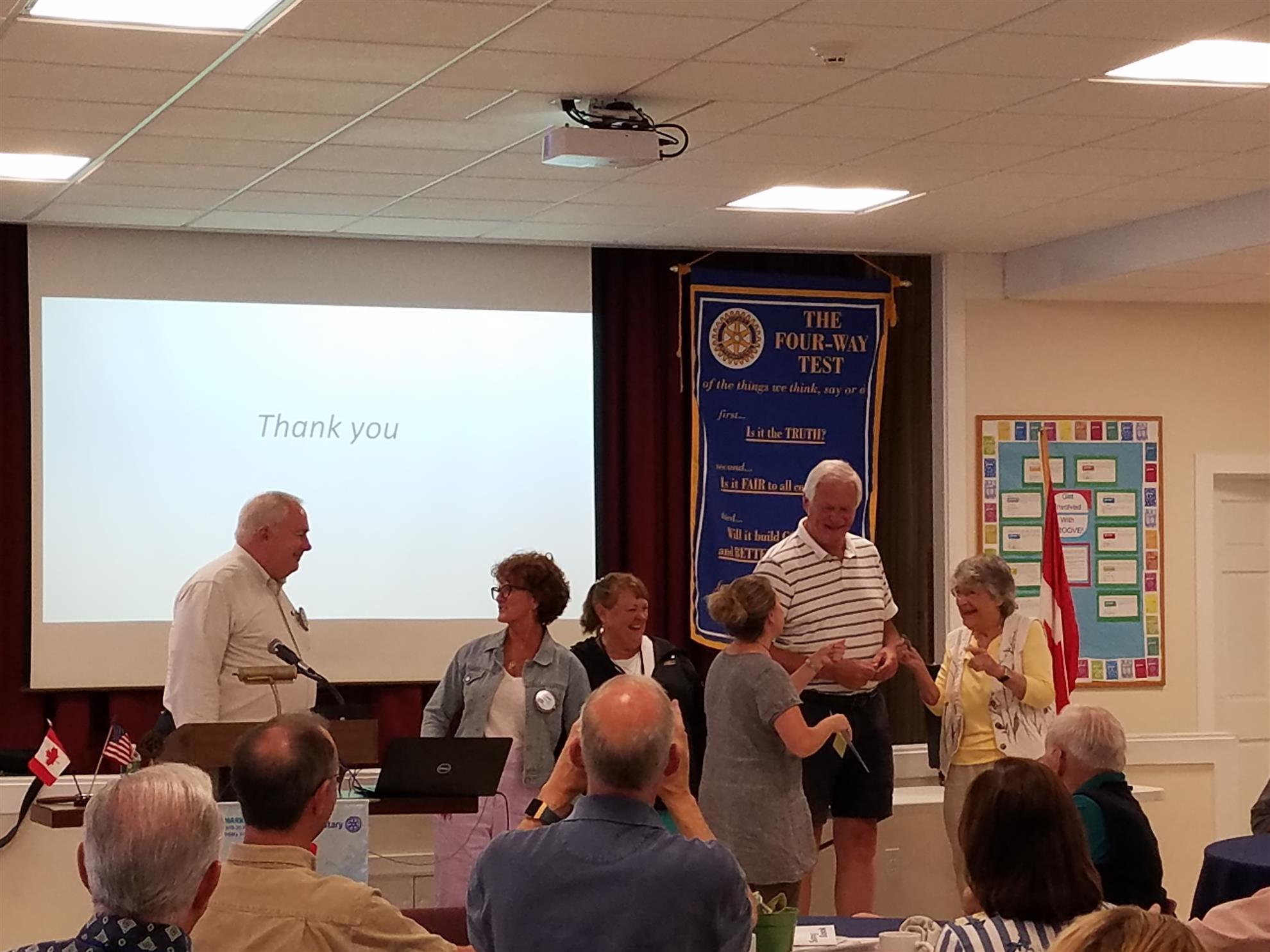 June 20, 2019 Meeting of West Bay Rotary (Jun 20, 2019)