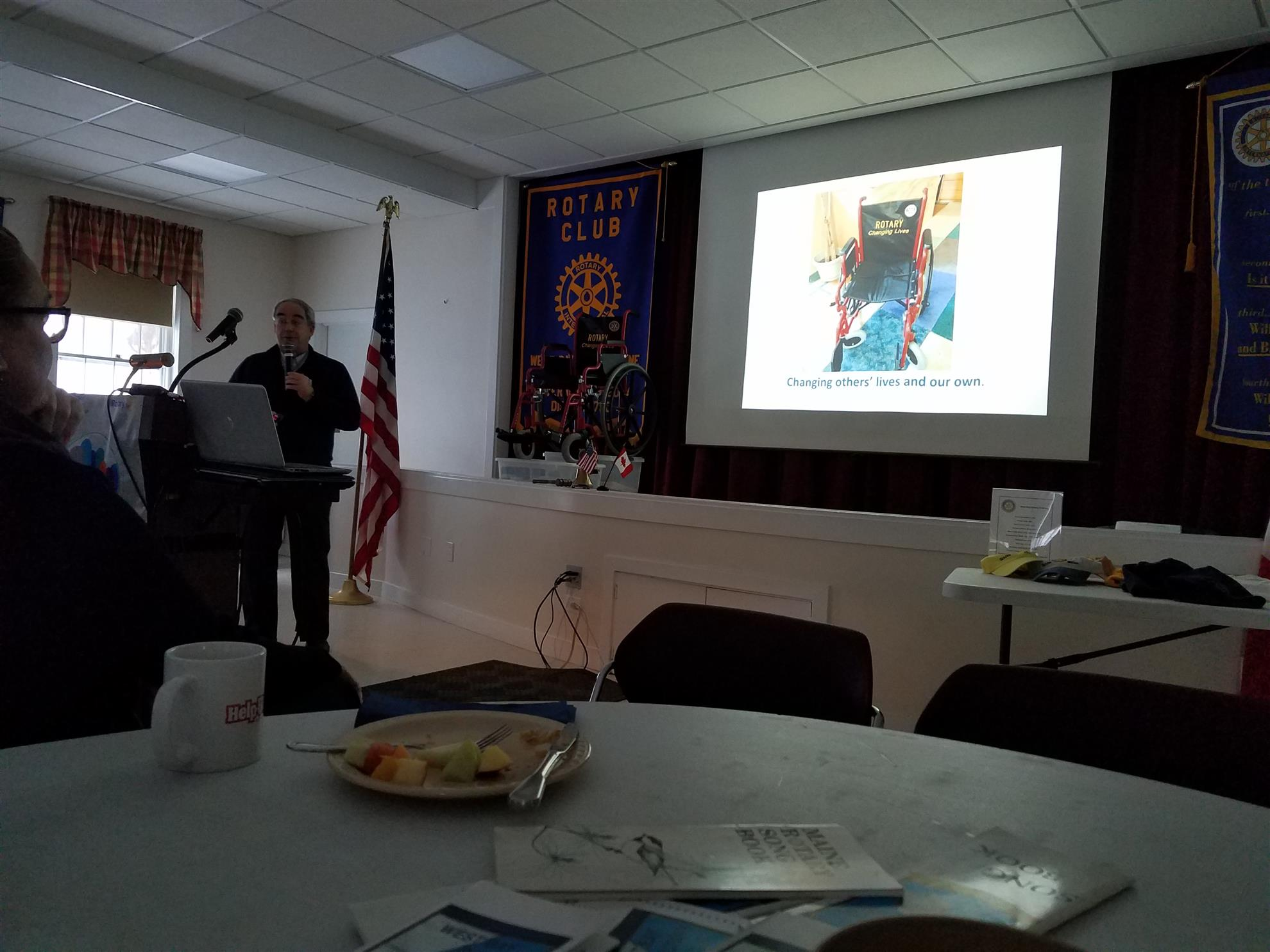 Jan 18 2018 Meeting of West Bay Rotary Jan 22 2018