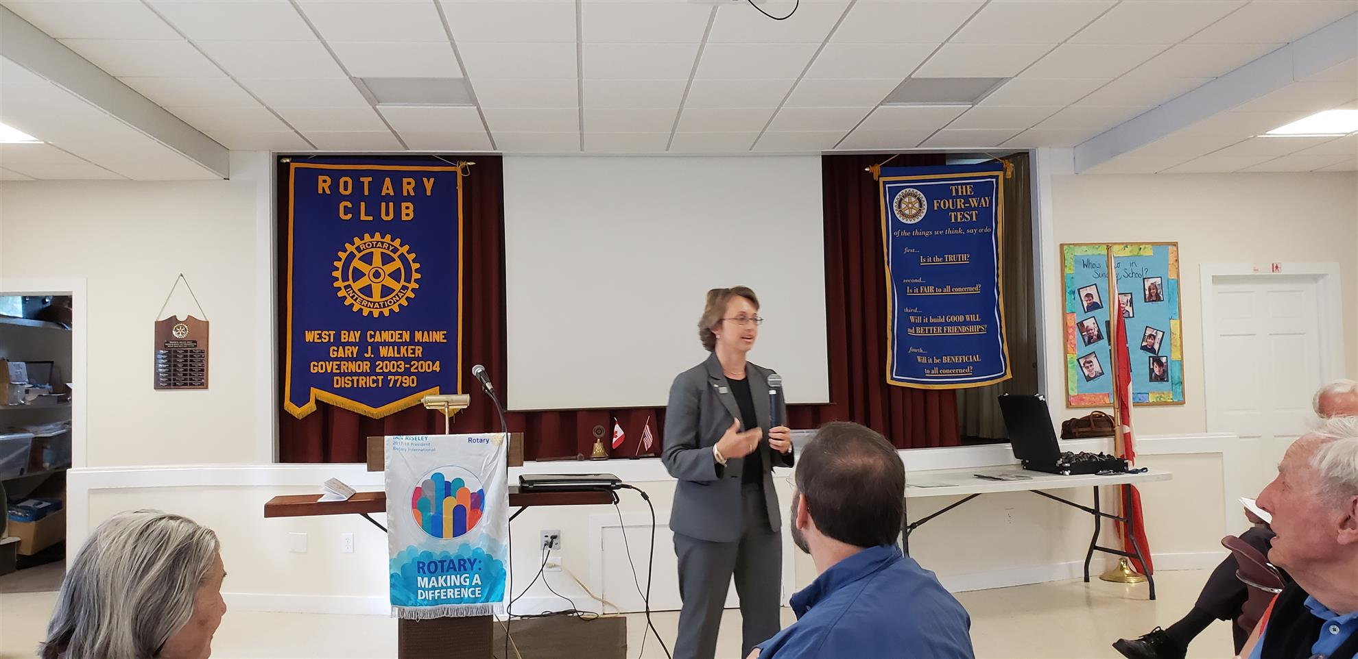 December 14, 2017 Meeting of West Bay Rotary (Dec 16, 2017)