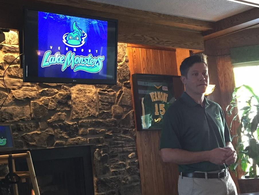 Kyle Bostwick, VP VT Lake Monsters