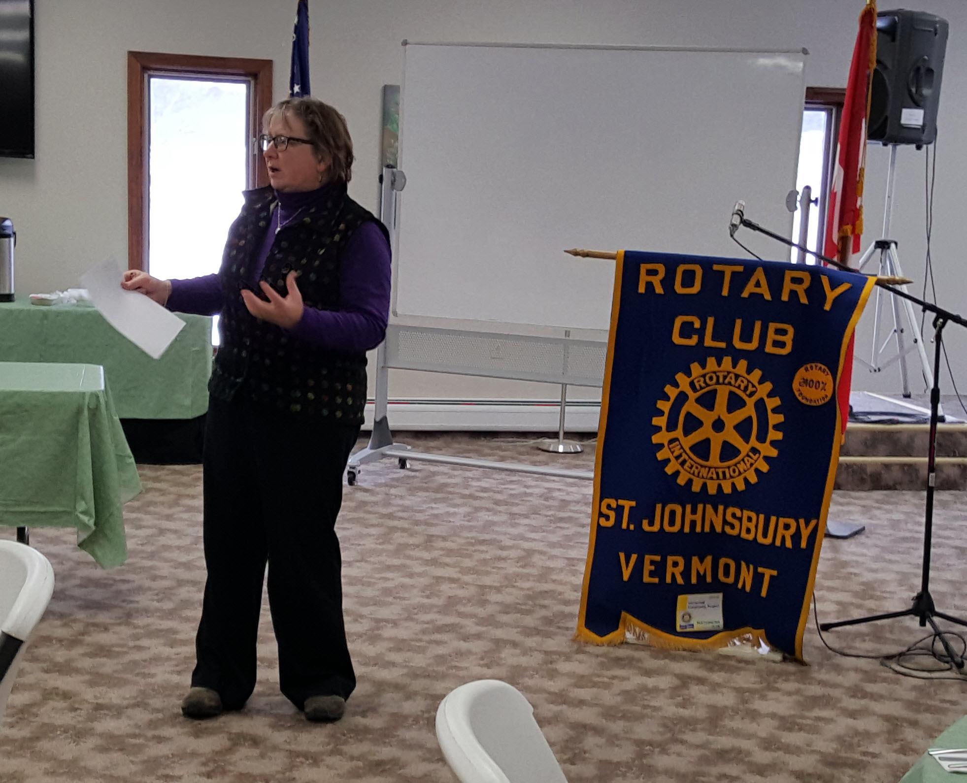 2017-01-09 St  Johnsbury Rotary Bulletin (Jan 09, 2017)
