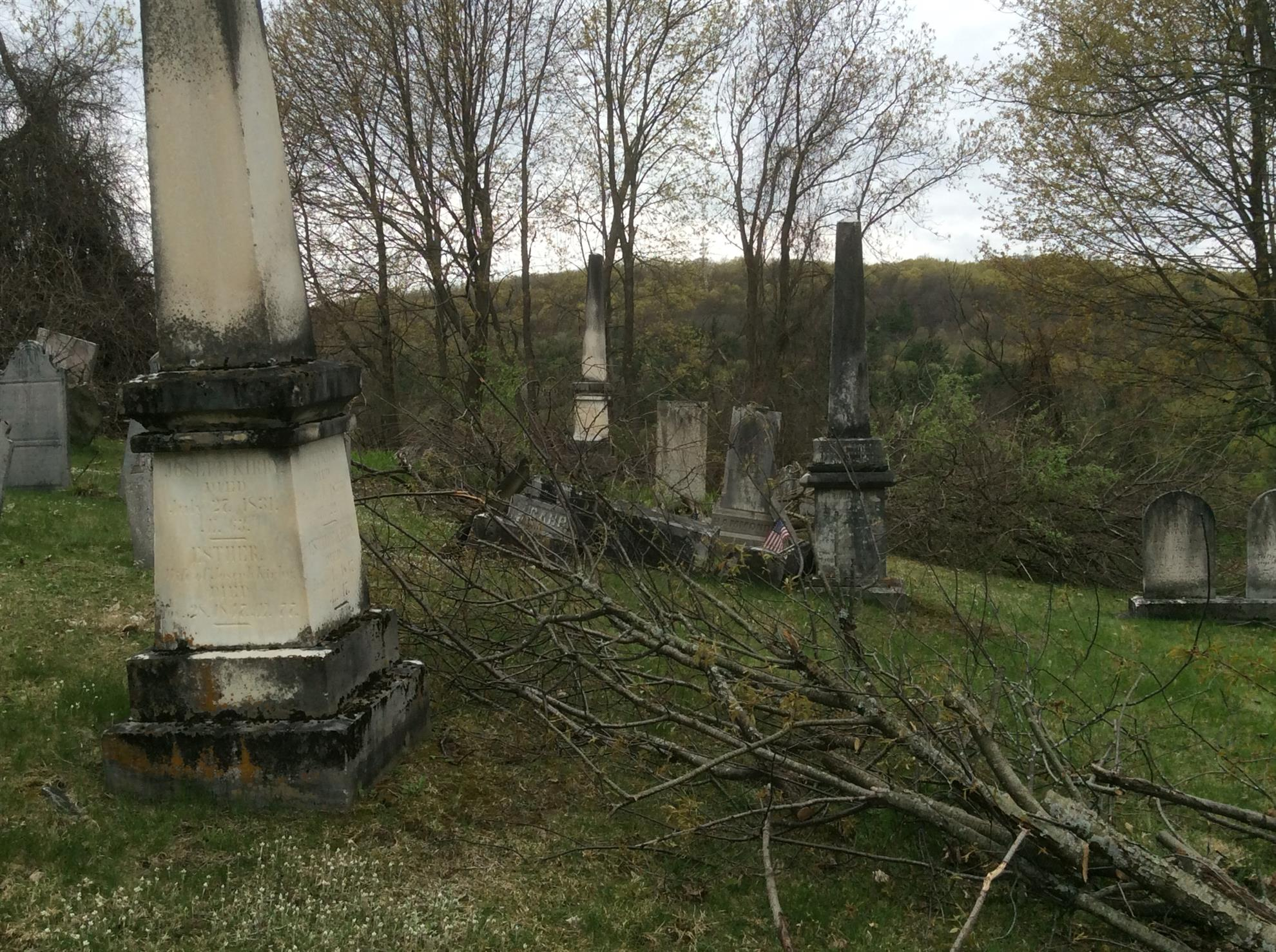 Old Middlebury Cemetery Clean Up Saturday, May 11, 2019