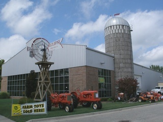 August 2010 Museum outside with windmill small