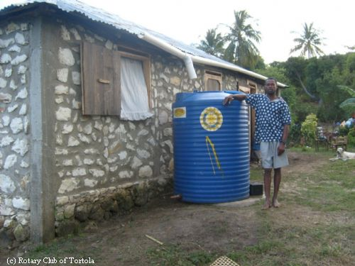 More Water Tanks Installed in Haiti | Rotary Club of Tortola