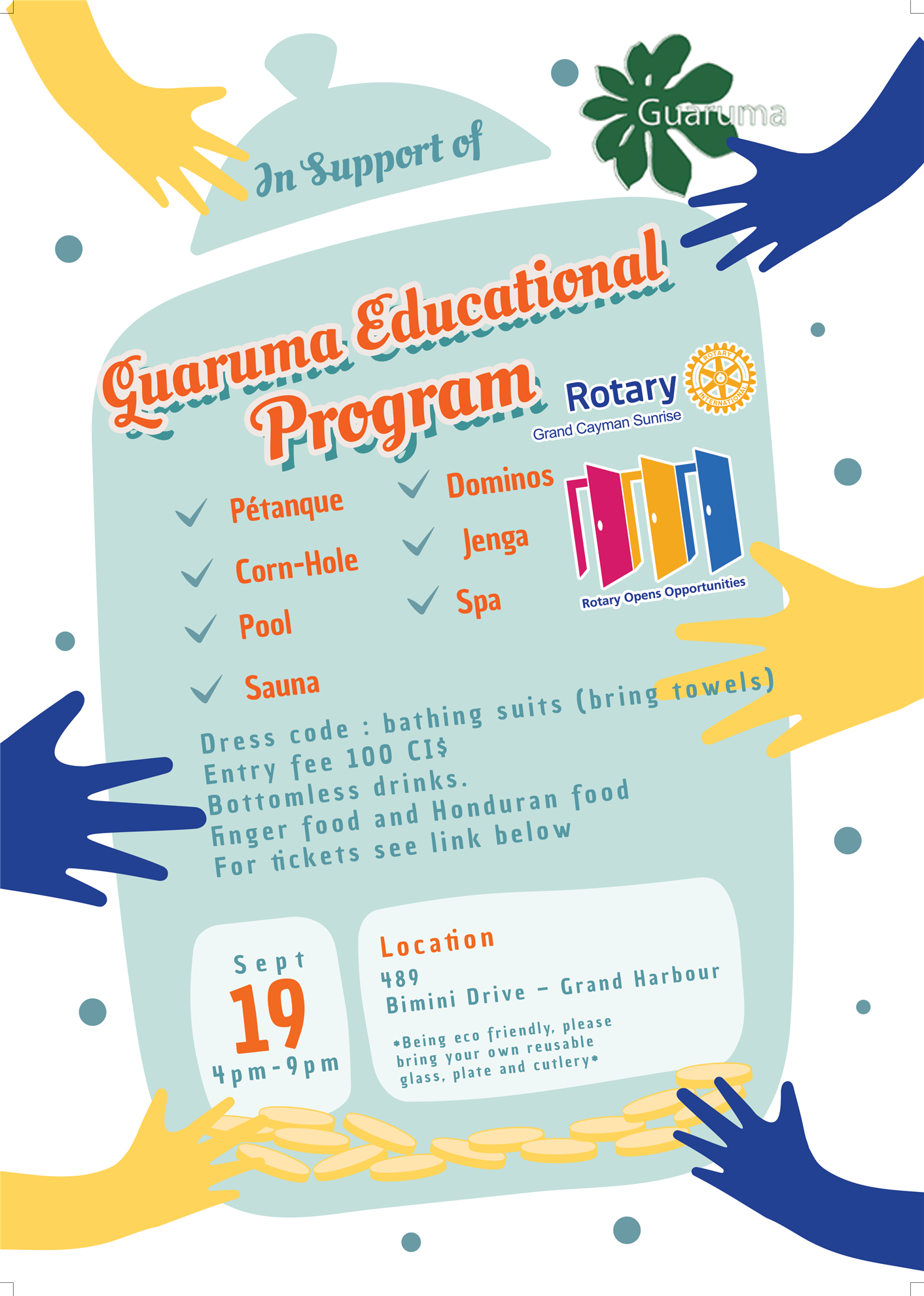 Guaruma Fundraiser Flyer