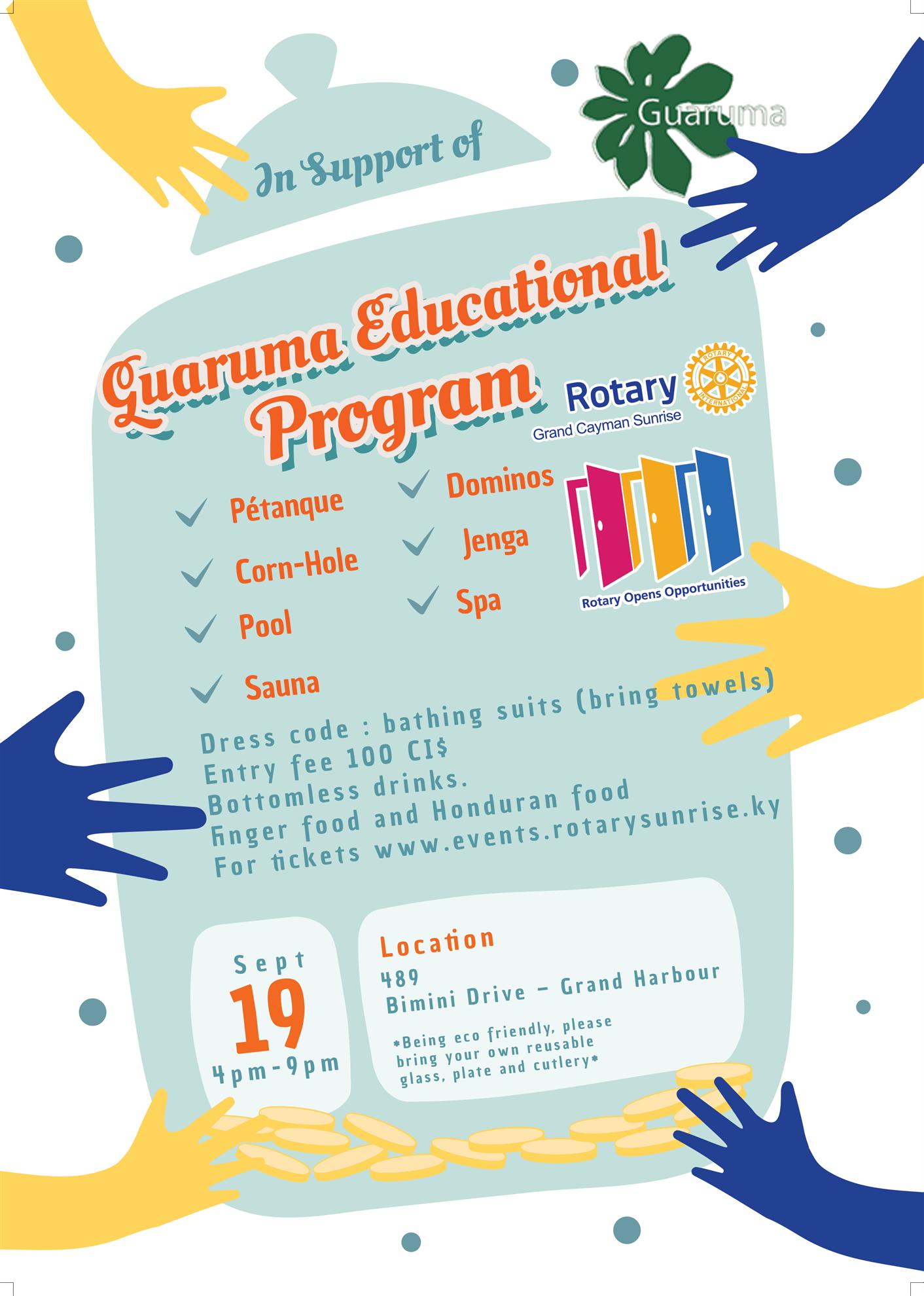 Image of Gaurouma  Event Flyer