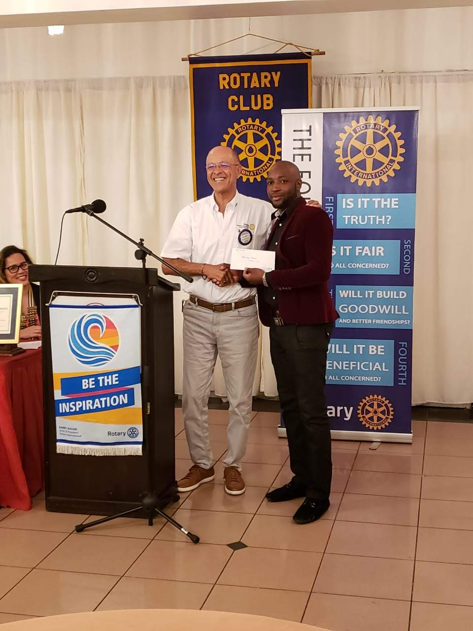 Stories   Rotary Club of St  Andrew North