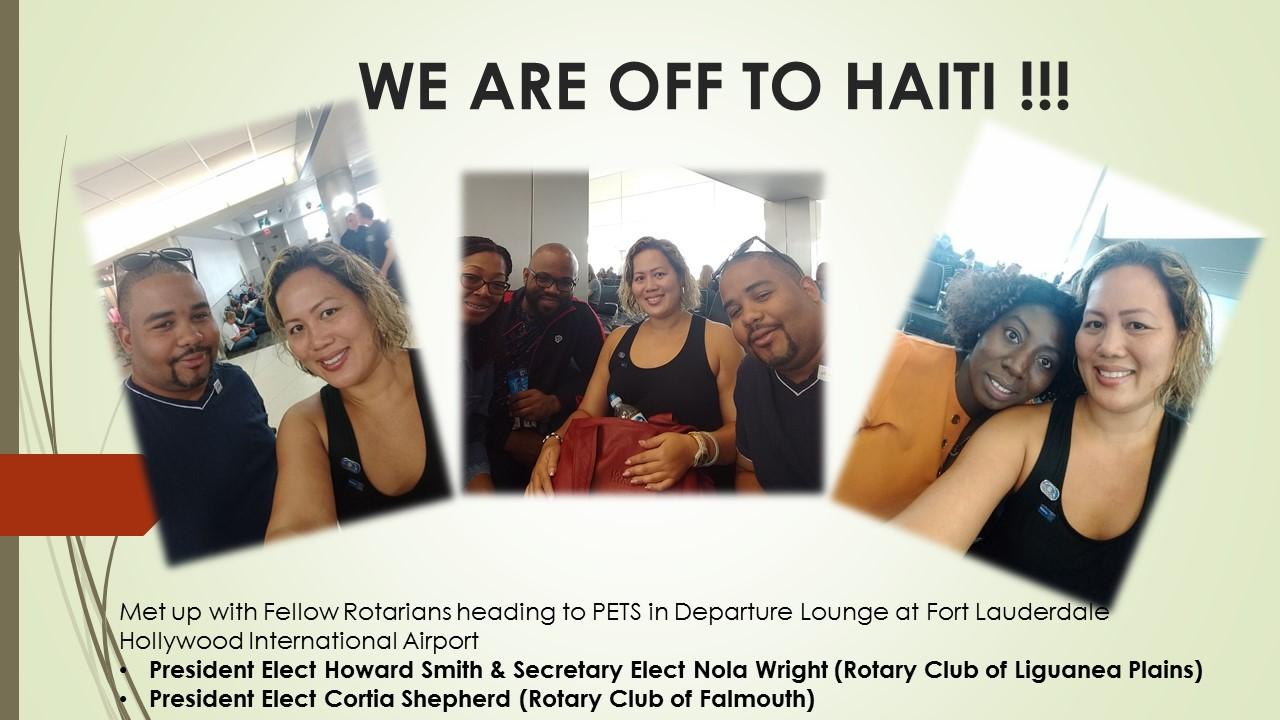 2018 DISTRICT 7020 PETS TRAINING THE HAITI EXPERIENCE | Rotary Club