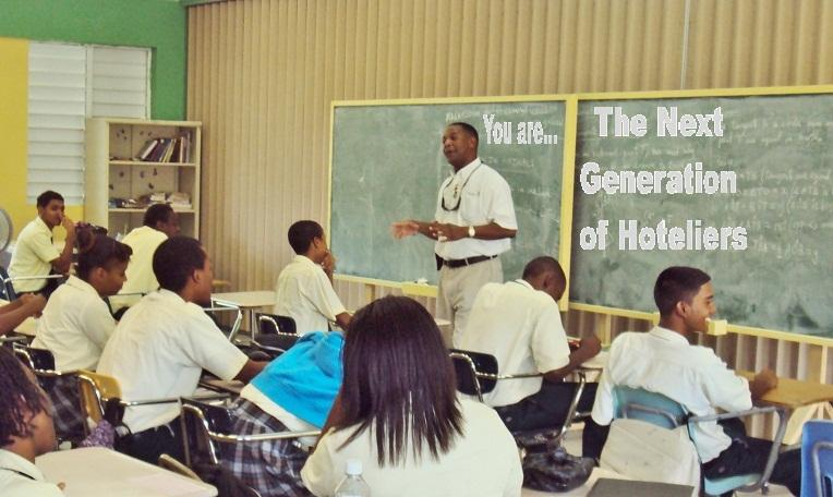 Vocational Service Talks Rotary Club Of Road Town