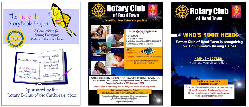 Rotary club essay of intent