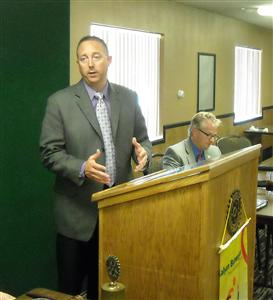 Patrick Schmitz Of Plains Area Mental Health Center Rotary Club Of