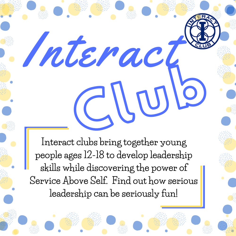 Interact Club Png