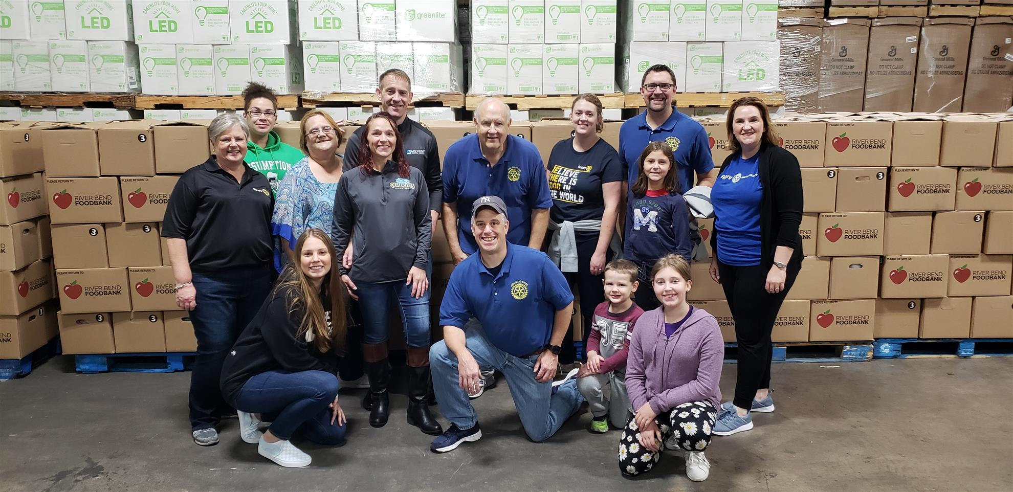 River Bend Foodbank Service Project