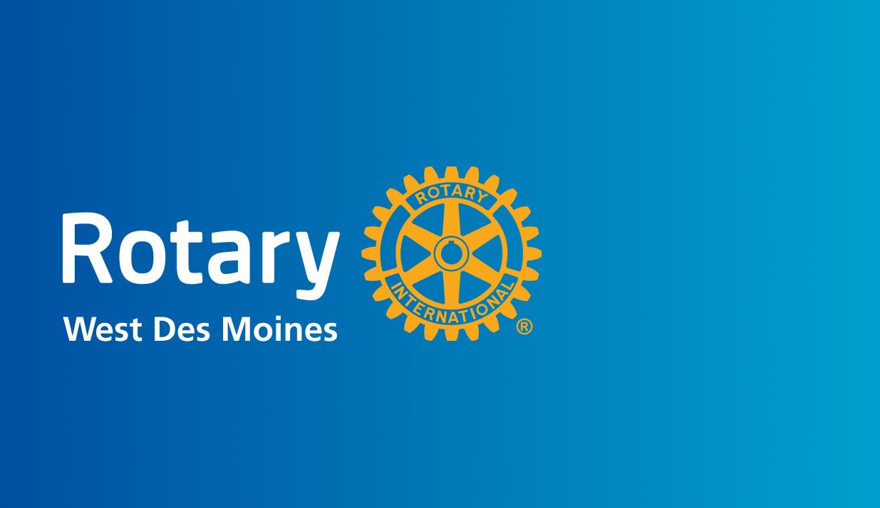 WDM Rotary Weekly Meeting