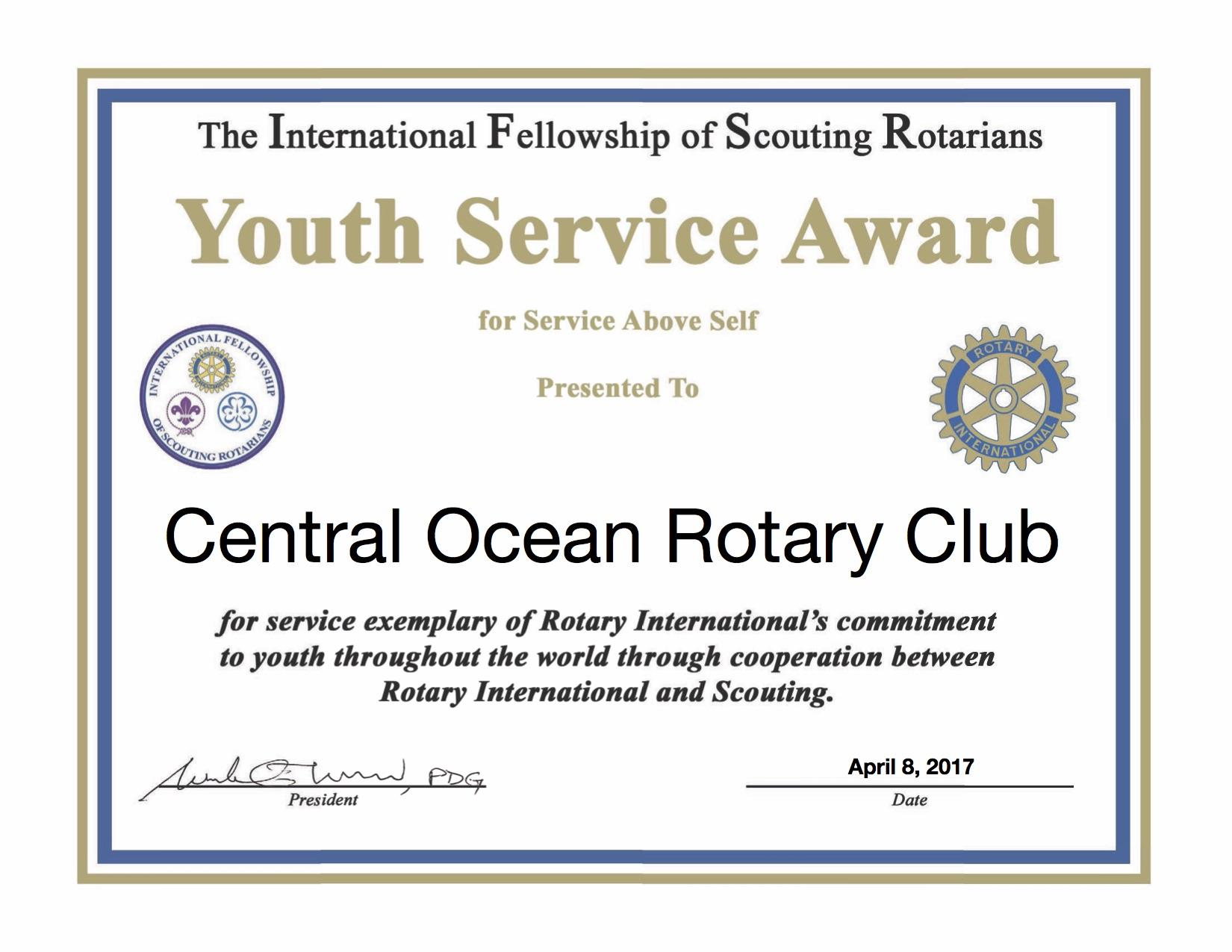 Stories | Rotary Club of Central Ocean Toms River