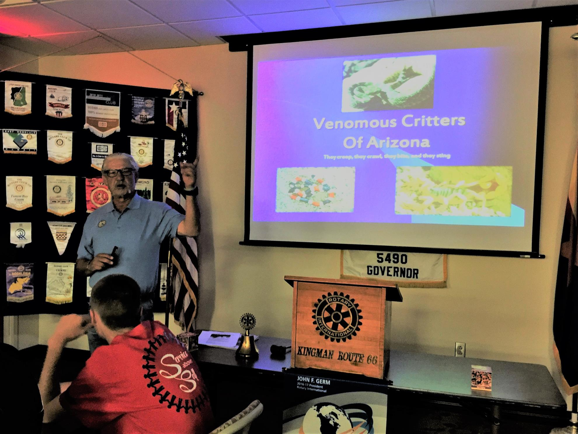 Speaker for 4 7 2017 rotarians are learning every week for Az game and fish portal