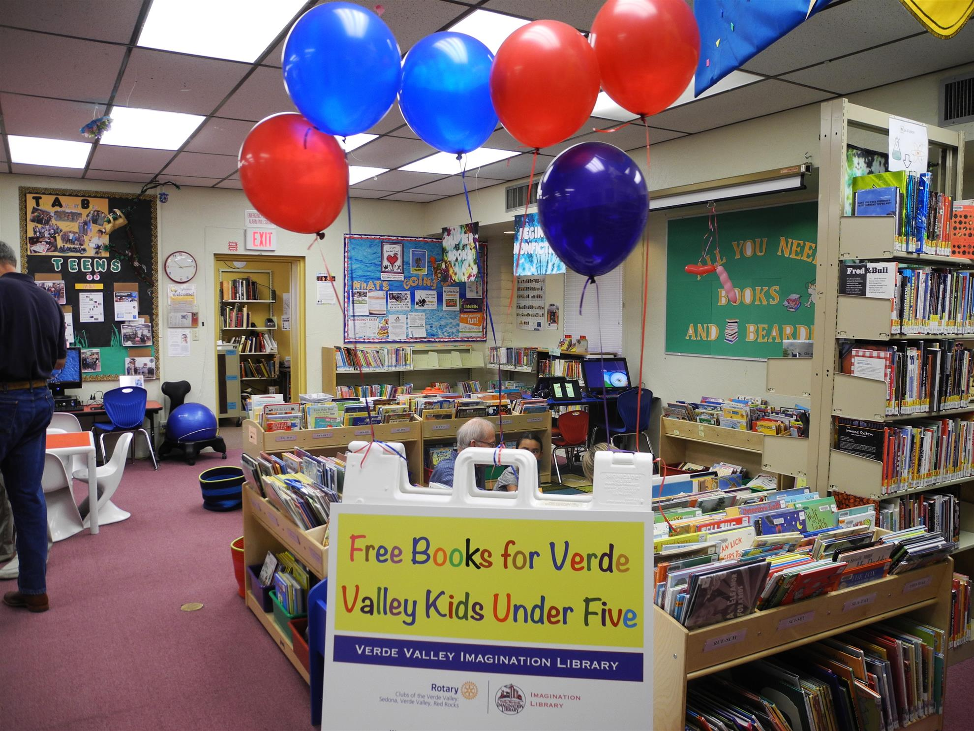 Camp Verde Library ready for Imagination Library