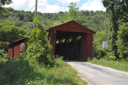 Covered bridge in Athens Co. 8/4/2015