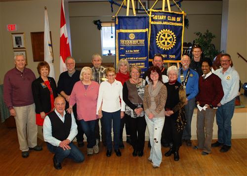 Rotary Club of Washago - Dec 2013