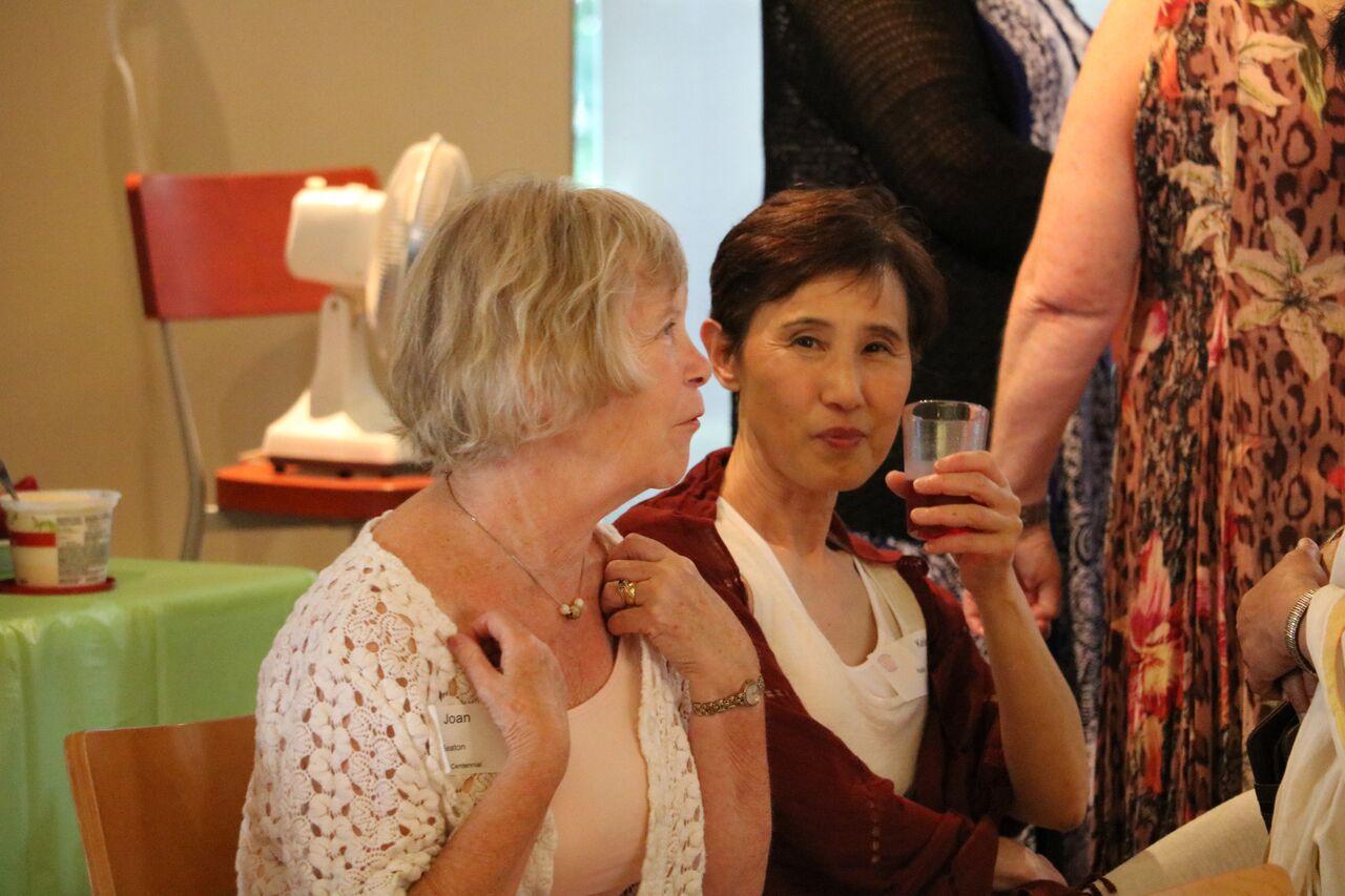 A toast for Joan Seaton