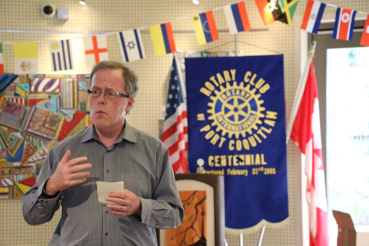 Keynote Speaker - Past District Governor Denis Boyd